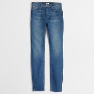 J Crew Factory high-rise skinny jeans 27 Stretch